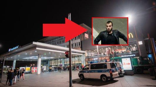 Essen Hauptbahnhof: Die Polizei fahndet öffentlich nach einem Schläger.