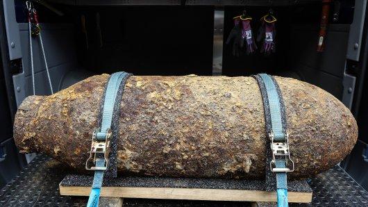 Essen: In Essen wurde eine Bombe aus dem Zweiten Weltkrieg gefunden. (Symbolbild)