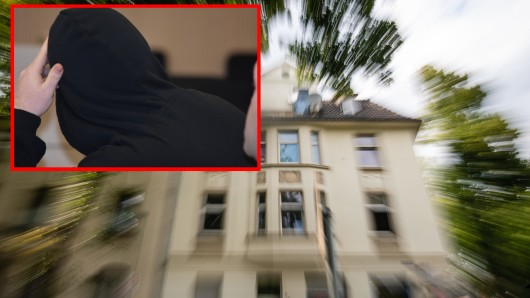 Essen: In der Dachgeschosswohnung ließ Benjamin S. den kleinen Luis qualvoll verdursten.