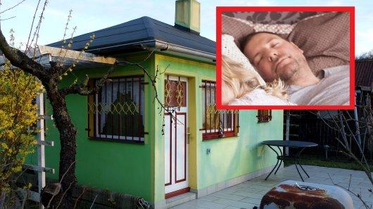 In Essen in einem Kleingartenverein schläft eine Familie. Doch der Vater hört nachts plötzlich Geräusche. (Symbolbild)