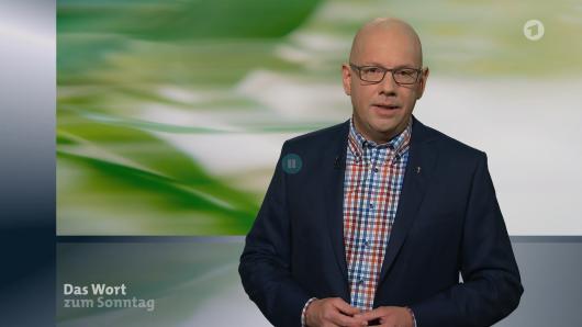 """Pfarrer Gereon Alter aus Essen sprach das """"Wort zum Sonntag""""."""