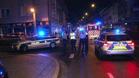 Essen: Großeinsatz der Polizei nach einer brutalen Schlägerei in Altendorf.