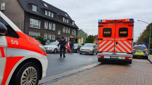 In Essen hat es einen dramatischen Unfall gegeben.