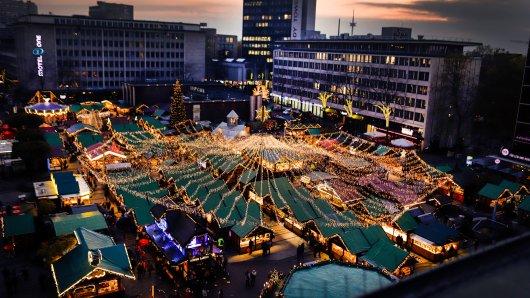 Auf dem Weihnachtsmarkt in Essen wird dieses Jahr einiges anders sein. (Archivbild)