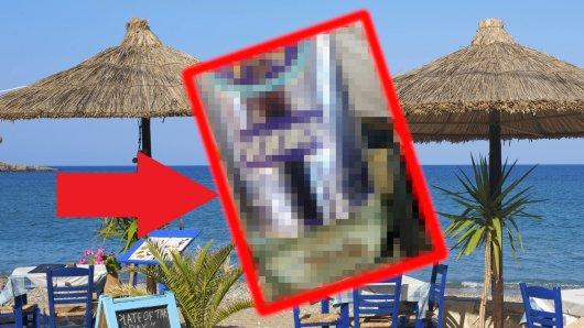 Ein Mann aus Essen hat auf Korfu eine lustige Entdeckung gemacht. (Symbolbild/Montage)