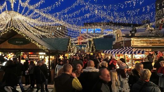 Der Weihnachtsmarkt in Essen ist einer der meistbesuchten im Ruhrgebiet. Ob er 2020 stattfindet, ist noch unklar.