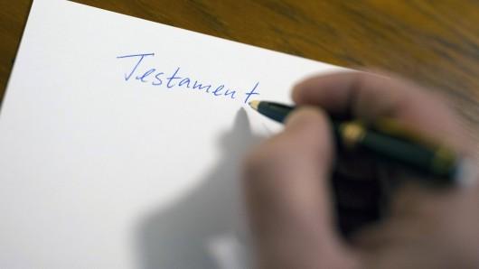 Eine verstorbene Frau hat in ihrem Testament etwas völlig Überraschendes eingetragen. (Symbolfoto)