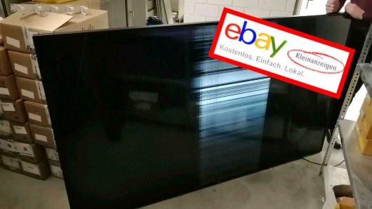 Eigentlich hatte ein Mann aus Essen nicht vor, seinen neuen Fernsehr direkt bei Ebay Kleinanzeigen wieder zu verkaufen. Doch jetzt verscherbelt er ihn für eine irre Summe.