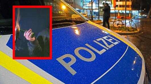 In Essen warf ein Mann einen vermeintlichen Molotowcocktail auf die Straße. (Symbolbild)