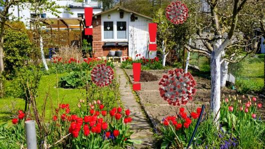In Essen wollen viele Menschen gerne einen Kleingarten - wie diesen hier in Huttrop - erwerben. Doch dabei schauen sie in die Röhre. (Symbolbild)