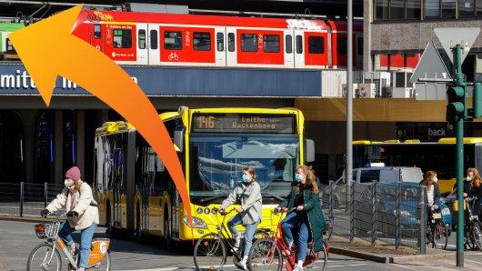 Am Hauptbahnhof Essen befand sich zuletzt ein Plakat, das für Wirbel sorgte.