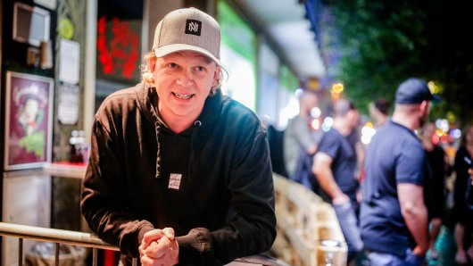 """Essen: Dem Clubbesitzer des """"19 Down"""", Bastian Herzogenrath, platzt der Kragen."""