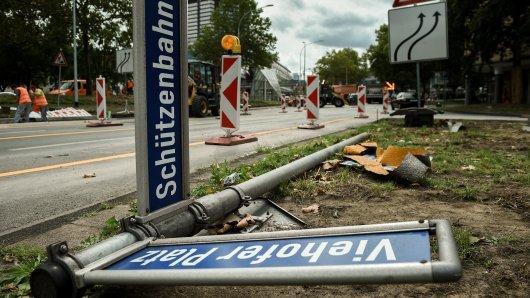 In Essen hat es auf der Schützenbahn einen schweren Unfall gegeben. (Symbolbild)