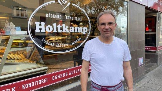 Essen: Bäcker Stefan Holtkamp bleibt nichts anderes übrig als auf die steigenden Preise zu reagieren.
