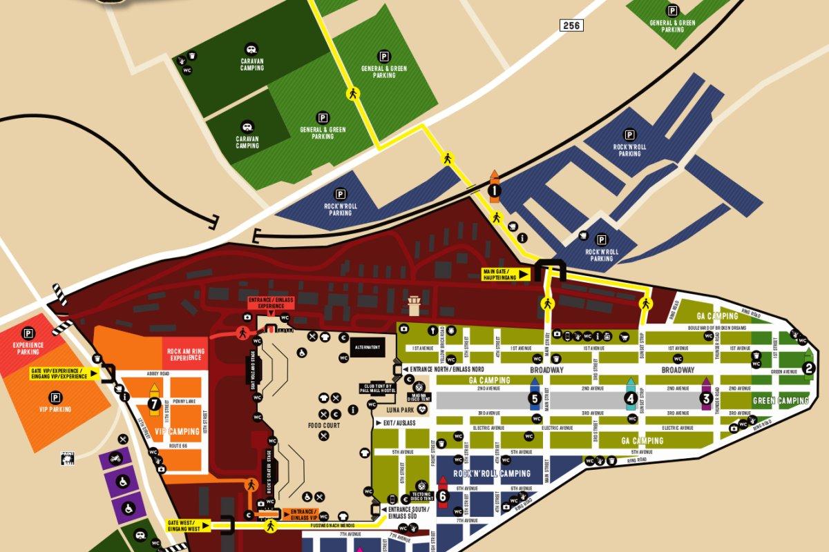 Stunk Bei Rock Am Ring Veranstalter Lösen Camping Engpass
