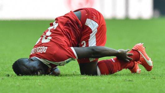 Auch das noch: Didier Ya Konan musste sich am Knie operieren lassen.