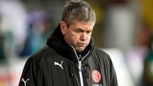 Friedhelm Funkel ist Trainer bei Fortuna Düsseldorf.