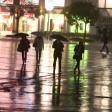 Regenschirm, Regen, Gewitter, Sturm, Wetter