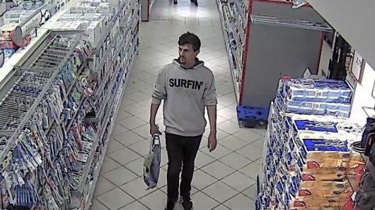 Hast du diesen Mann schon mal gesehen? Wenn du Hinweise hast, melde dich bitte bei der Polizei Essen.