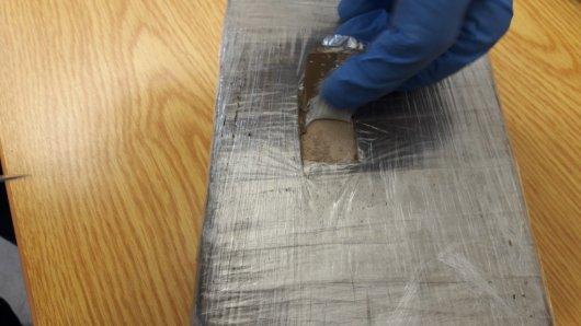 Ein Kilo Heroin konnte die Polizei beschlagnahmen.
