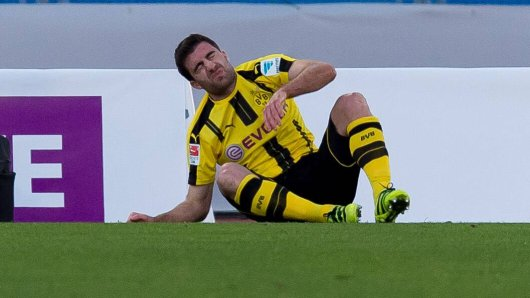 BVB-Abwehrspieler Sokratis soll bereits in der kommenden Woche wieder trainieren.