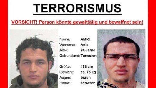 Berlin-Attentäter Anis Amri soll Koks und Ecstasy genommen haben.