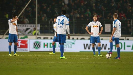 Verloren: Der VfL Bochum ging in Hannover leer aus.