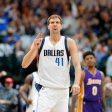 Basketball-Star Dirk Nowitzki