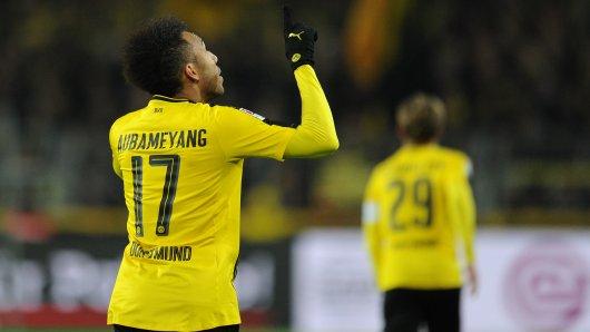 Torschütze für den BVB: Pierre-Emerick Aubameyang.