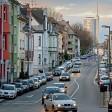 Paulinenstraße mit Blick auf den überragenden RWE Turm Samstag der 22.02.2014 Foto: Kerstin Kokoska WAZ/FotoPool