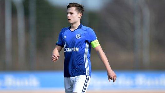 Luca Beckenbauer war in der U17 Schalkes Kapitän.