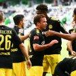 Großer Jubel in Dortmund: Nach dem ersten Spieltag ist der BVB Spitzenreiter.