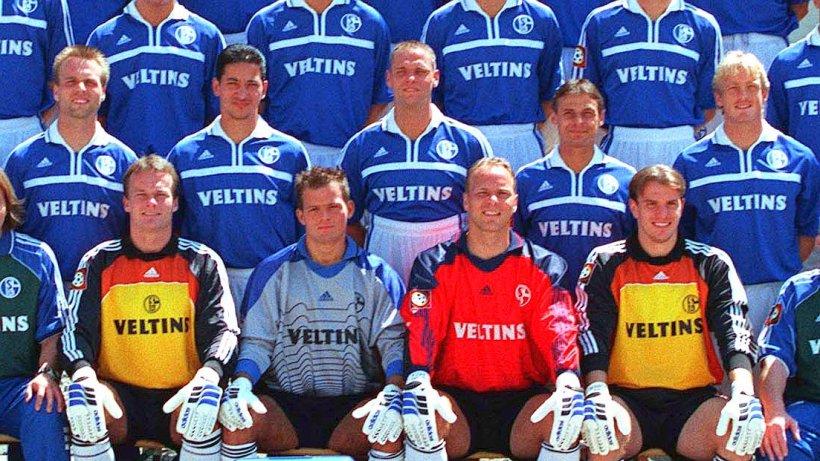 Mannschaftsfoto Schalke 04 Legat