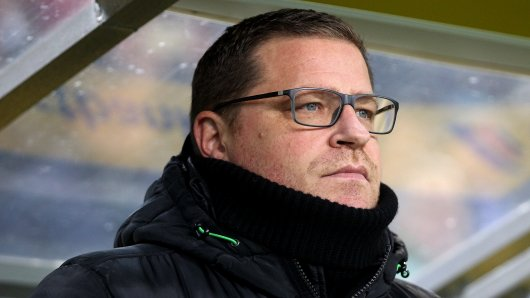 Sportdirektor Max Eberl von Borussia Mönchengladbach