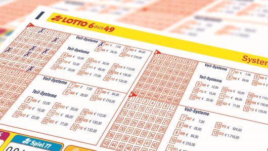 Ein Lottospieler aus dem Münsterland räumte mit Hilfe eines Systemscheins 007 über 1,8 Millionen Euro ab.