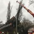 """Die Feuerwehr in Bochum hatte während Orkantief """"Friederike"""" viel zu tun."""