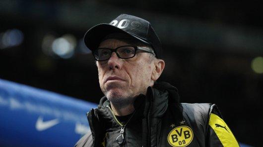 BVB-Trainer Peter Stöger