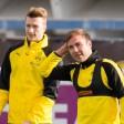 Marco Reus und Mario Götze gehören bald wieder zum BVB-Kader.