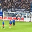 Die HSV-Ultras drohten vor dem Heimspiel gegen Bayer Leverkusen.