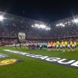 Die Fans von RB Salzburg zeigten gegen Borussia Dortmund eine eindrucksvolle Choreografie.