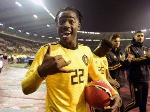 Jubelt er auch bei der WM für Belgien? BVB-Star Michy Batshuaysteht im vorläufigen Kader. i