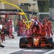 Beim Rennen der Formel 1 in Bahrain kam es bei Ferrari zu einem schrecklichen Unfall.