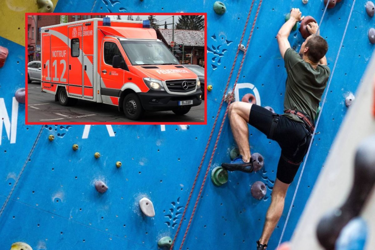 Kletterausrüstung Dortmund : Wuppertaler kletterhalle: mann stürzt 15 meter in die tiefe region