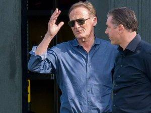 BVB-Geschäftsführer Hans-Joachim Watzke mit Sportdirektor Michael Zorc (r.).