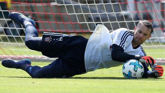 Um es bei einem WM-Spiel ins Tor zu schaffen, muss Manuel Neuer als deutsche Nummer eins gesetzt sein. (Archivfoto)