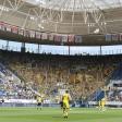 Die Fans von Borussia Dortmund pfiffen beim Spiel bei 1899 Hoffenheim zwischenzeitlich enorm laut.