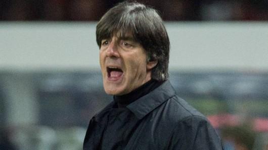 Joachim Löw will mit dem DFB-Team bei der WM 2018 den Titel verteidigen.