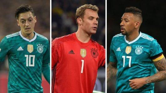 Vor der WM 2018 gibt es im Kader der DFB-Elf noch einige Baustellen.