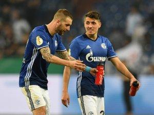 Spielen mit Österreich gegen Deutschland: die Schalke-Stars Guido Burgstaller (l.) und Alessandro Schöpf.