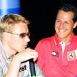Michael Schumacher und Mika Häkkinen waren von 1998 bis 2000 große Rivalen auf der Rennstrecke.